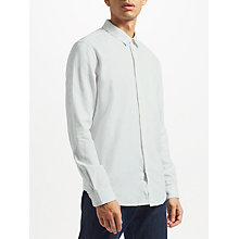Buy Samsoe & Samsoe Liam NV Long Sleeve Shirt, White Online at johnlewis.com