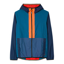 Buy PS Paul Smith Rip Stop Hooded Contrast Jacket, Blue Online at johnlewis.com