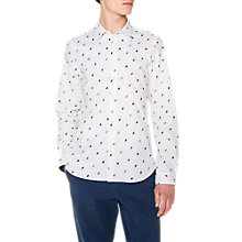 Buy PS Paul Smith Lollipop Long Sleeve Shirt, Ecru Online at johnlewis.com