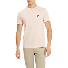 Buy Lyle & Scott Plain Crew Neck Stretch T-Shirt Online at johnlewis.com