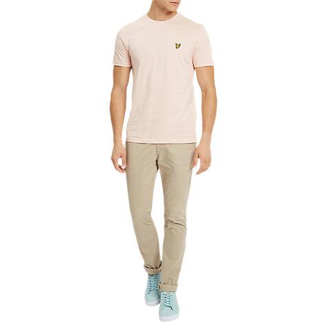 Buy Lyle & Scott Plain Crew Neck Stretch T-Shirt | John Lewis