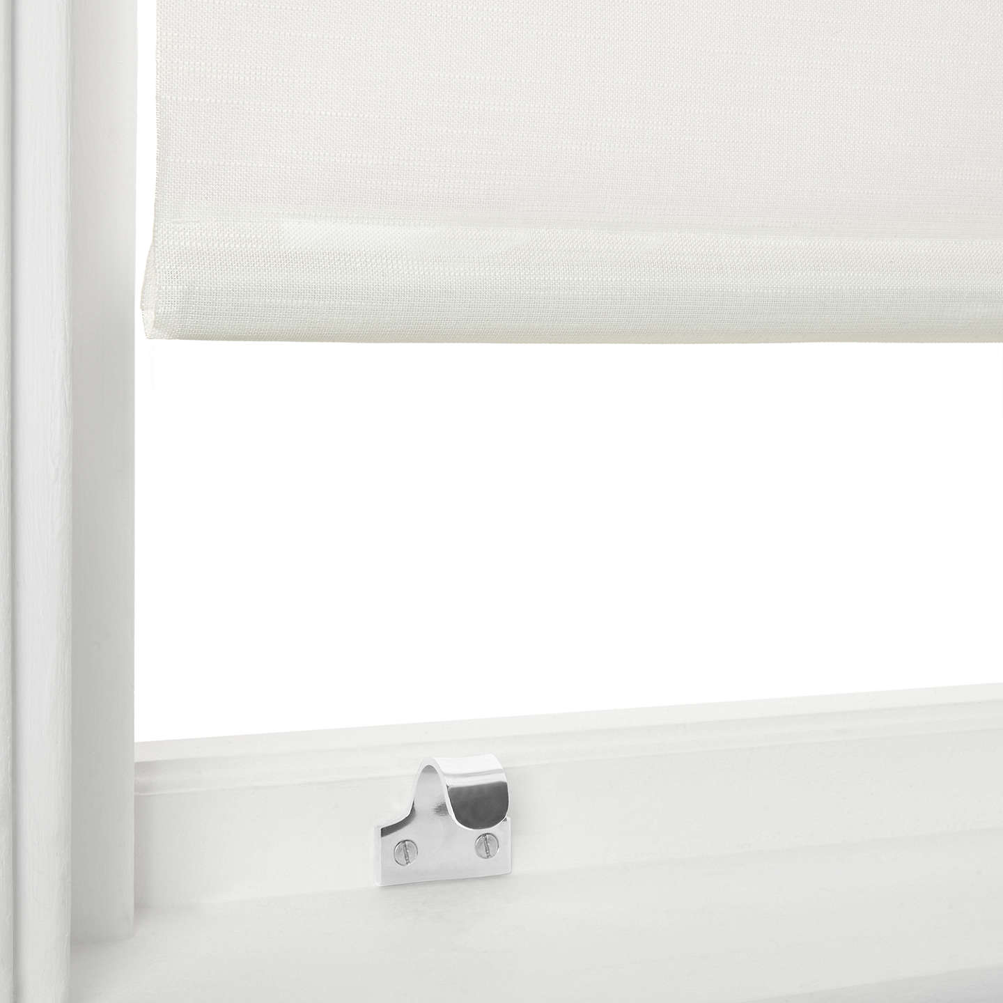 Buyjohn Lewis Lima Blackout Roller Blind, White, W100Cm Online At