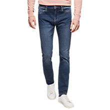 Buy Reiss Tony Slim Tapered Jeans, Indigo Online at johnlewis.com