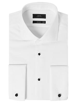 John Lewis & Partners Marcella Slim Fit Dress Shirt, White