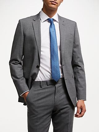 John Lewis & Partners Seasonless Tailored Suit Jacket, Mid Grey