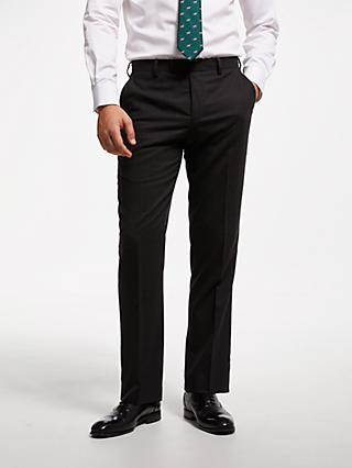 John Lewis & Partners Tailored Suit Trousers, Charcoal
