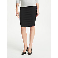 Buy Winser London Miracle Pencil Skirt, Black Online at johnlewis.com
