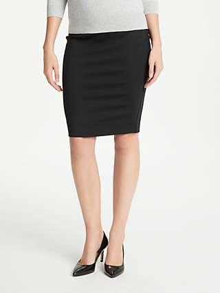 Winser London Miracle Pencil Skirt, Black