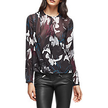 Buy Reiss Como Printed Blouse, Multi Online at johnlewis.com