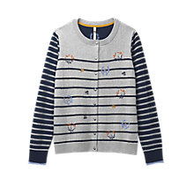 Buy White Stuff Garland Embroidered Cardigan, Multi Online at johnlewis.com
