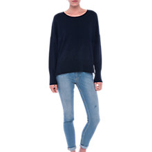 Buy French Connection Della Vhari Crew Neck Jumper Online at johnlewis.com