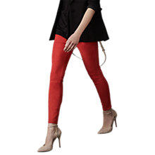 Buy Reiss May Suede Trousers Online at johnlewis.com