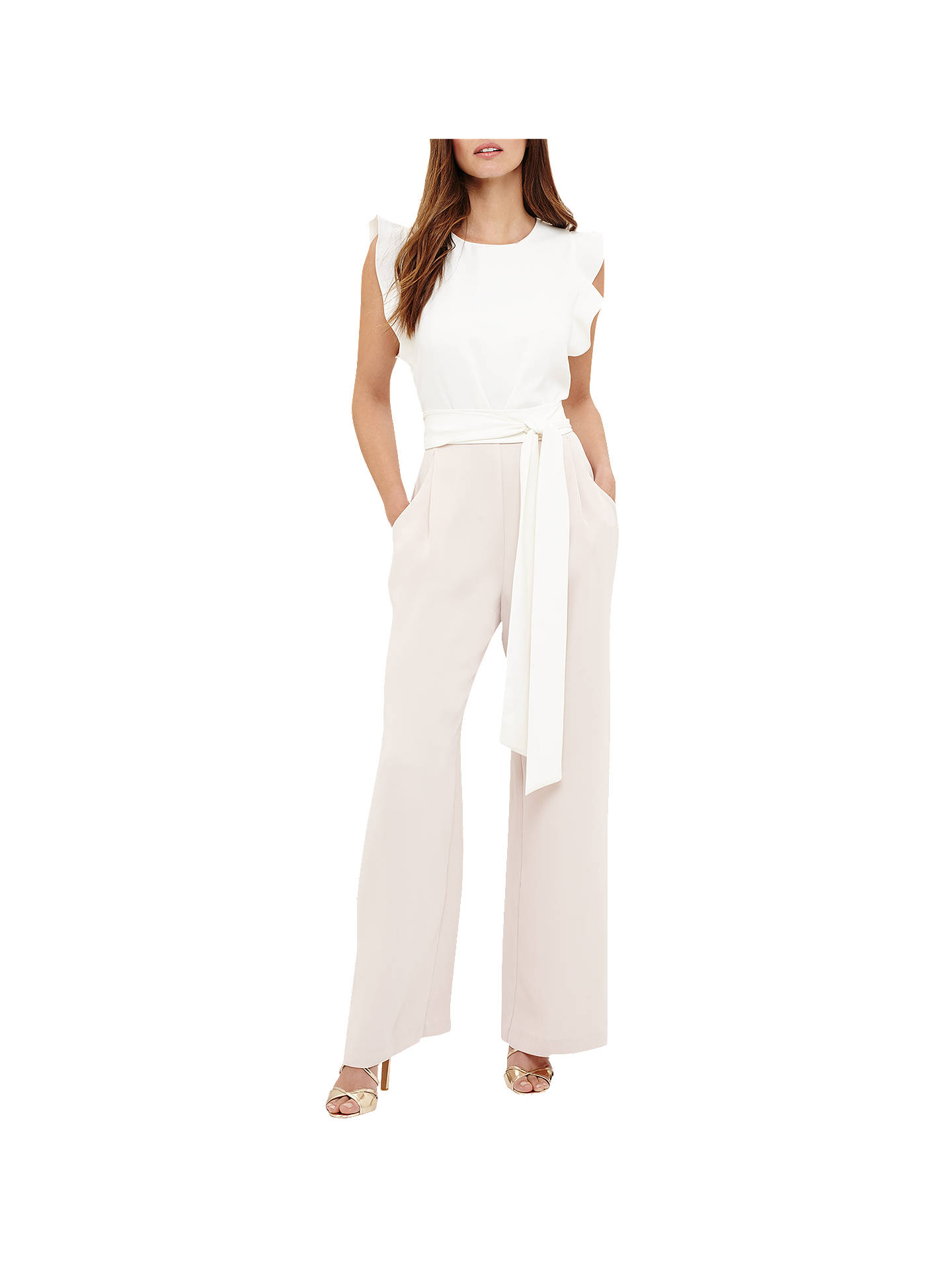 1eaecfc5799 Phase Eight Victoriana Jumpsuit at John Lewis   Partners