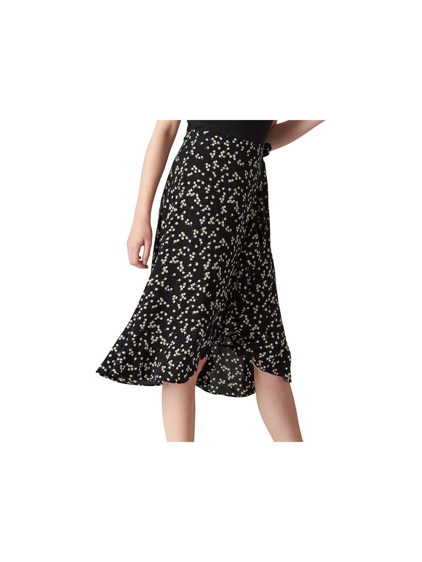 3cd5010888 BuyWhistles Daisy Print Frill Wrap Skirt