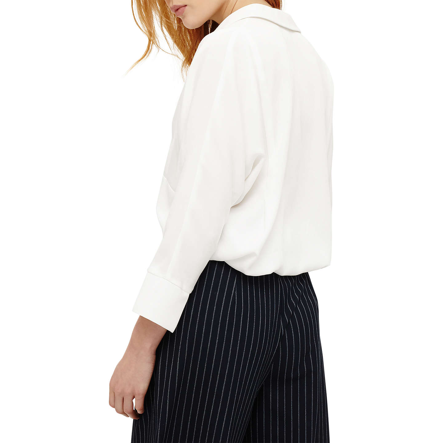BuyPhase Eight Brogan Shirt, Cream, 8 Online at johnlewis.com