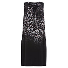 Buy Mint Velvet Ellen Print Cocoon Dress, Dark Blue Online at johnlewis.com