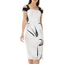 Buy Coast Muscari Printed Shift Dress, Monochrome Online at johnlewis.com