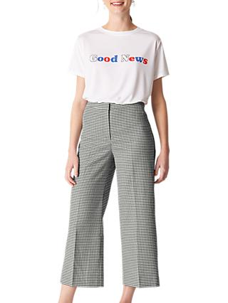 Whistles Check Trousers, Multi