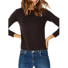 Buy Oasis The Rib Side Perfect Crew Jumper Online at johnlewis.com