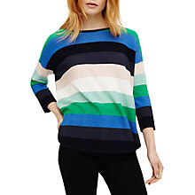 Buy Phase Eight Megan Bold Stripe Knit Jumper, Multi Online at johnlewis.com