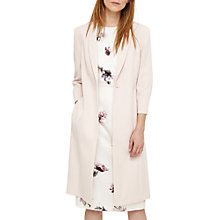 Buy Willow Long Line Jacket, Cameo Online at johnlewis.com