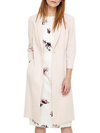 Willow Long Line Jacket, Cameo