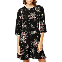 Buy Warehouse Marianne Printed Dress, Multi Online at johnlewis.com