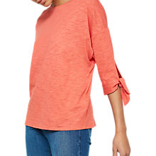 Buy Mint Velvet Batwing Jersey T-Shirt, Red Online at johnlewis.com