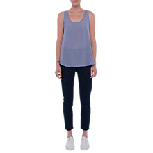 Buy French Connection Classic Vest Top, Smoulder Online at johnlewis.com