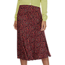 Buy Brora Liberty Jersey Skirt, Hibiscus Paisley Online at johnlewis.com
