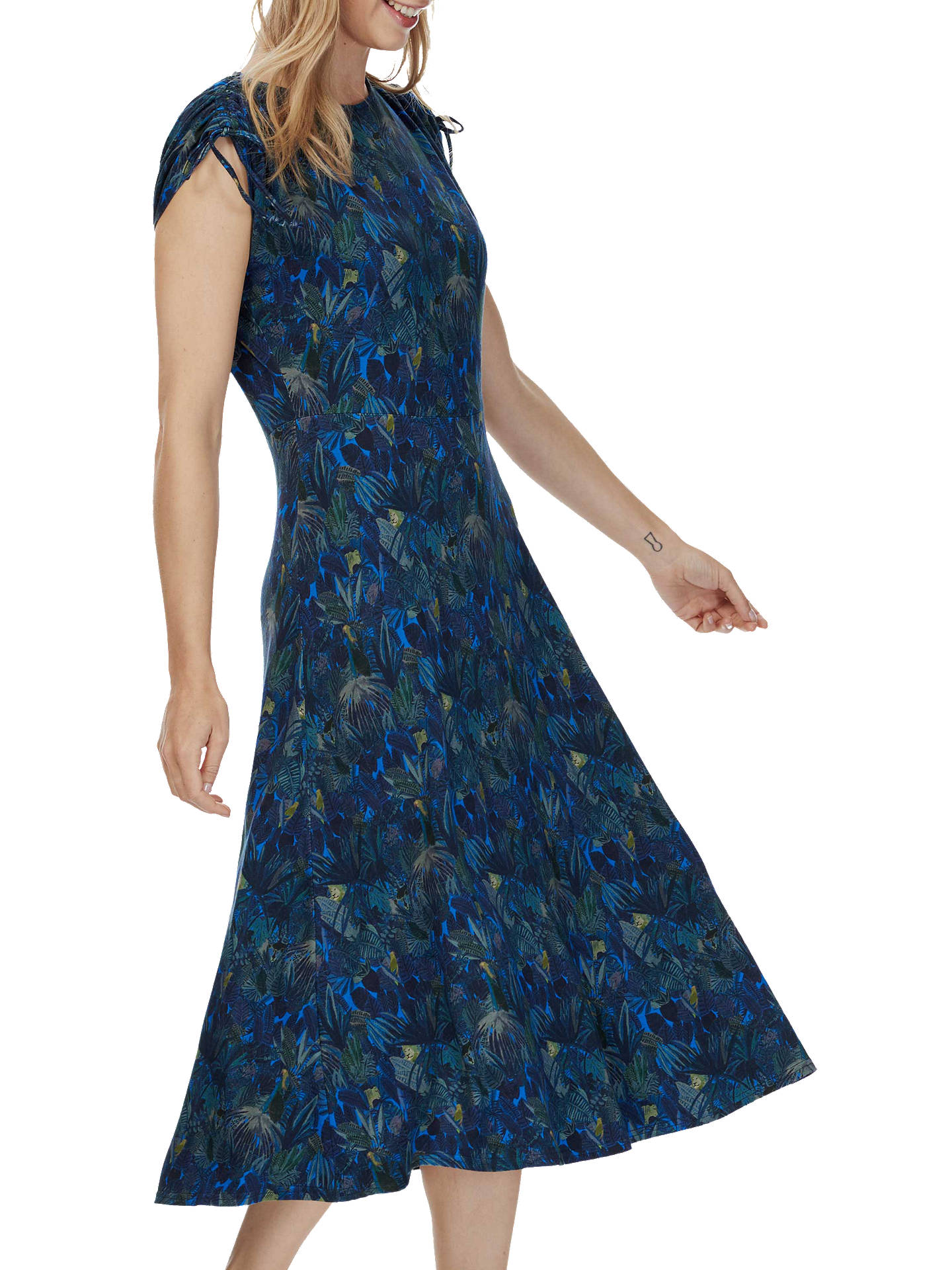 aa3bf82364 Buy Brora Liberty Print Jersey Midi Dress