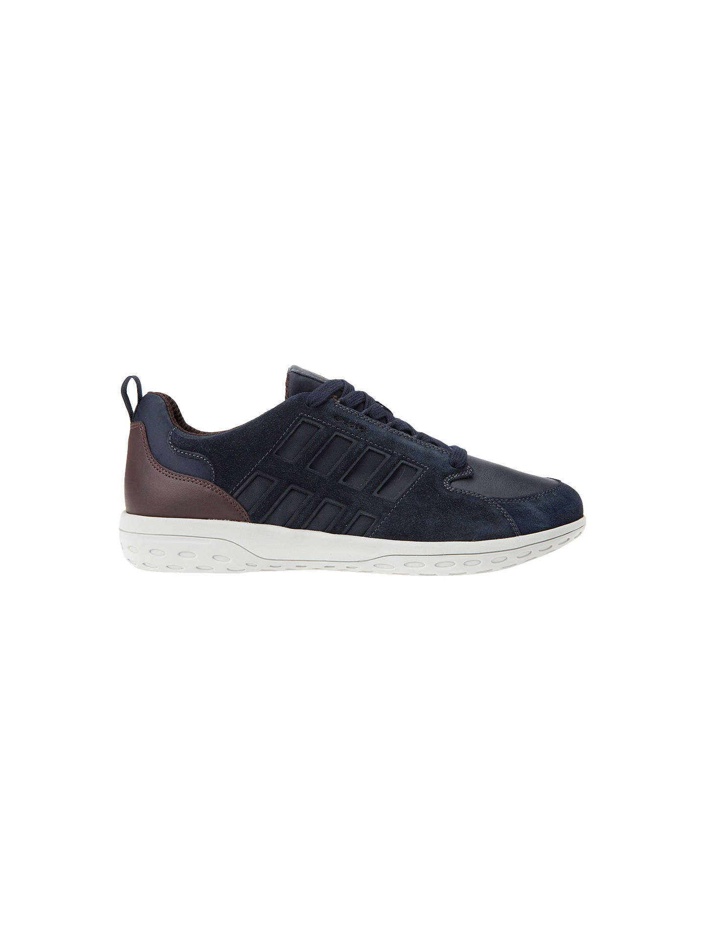 Geox Mansel Lace Up Trainers at John Lewis   Partners f258d67278c