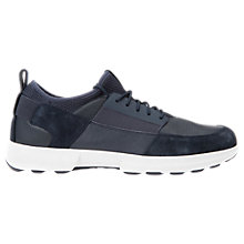 Buy Geox Traccia Leather Trainers Online at johnlewis.com