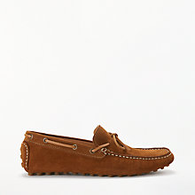 Buy John Lewis Suede Driver Shoes Online at johnlewis.com