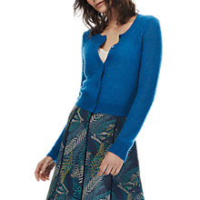 Buy Brora Mohair Textured Cardigan, Dragonfly Online at johnlewis.com