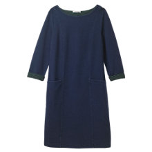 Buy White Stuff Brooklyn Denim Jersey Dress, Blue Online at johnlewis.com