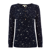 Buy White Stuff Brook Top, Blue Online at johnlewis.com