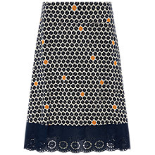 Buy White Stuff Park Avenue Jersey Skirt, Blue/Multi Online at johnlewis.com
