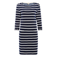 Buy White Stuff Nina Stripe Jersey Dress, Brooklyn Blue/Multi Online at johnlewis.com