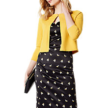 Buy Karen Millen Fine Cardigan, Mustard Online at johnlewis.com