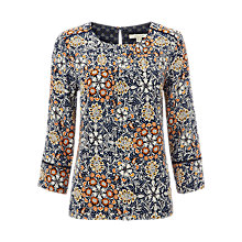 Buy White Stuff Paisley Printed Top, Multi Online at johnlewis.com