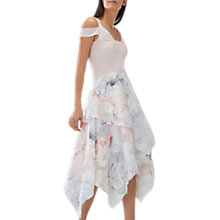 Buy Coast Vinca Print Midi Dress, Multi Online at johnlewis.com