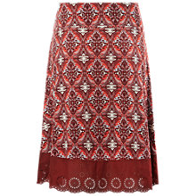Buy White Stuff Park Avenue Jersey Skirt, Red Online at johnlewis.com
