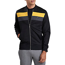Buy Barbour International Apex Zip Through Sweatshirt, Black Online at johnlewis.com