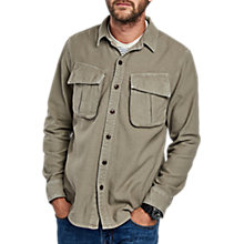 Buy Barbour International Bow Long Sleeve Shirt, Military Green Online at johnlewis.com