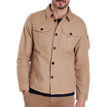 Buy Barbour Land Rover Defender Tow Long Sleeve Shirt, Stone Online at johnlewis.com