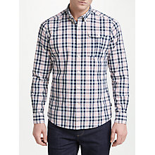 Buy Barbour Land Rover Defender Junction Check Shirt, Ecru Online at johnlewis.com