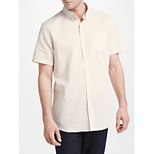 Buy Barbour Land Rover Defender Terrain Short Sleeve Shirt, Ecru Online at johnlewis.com