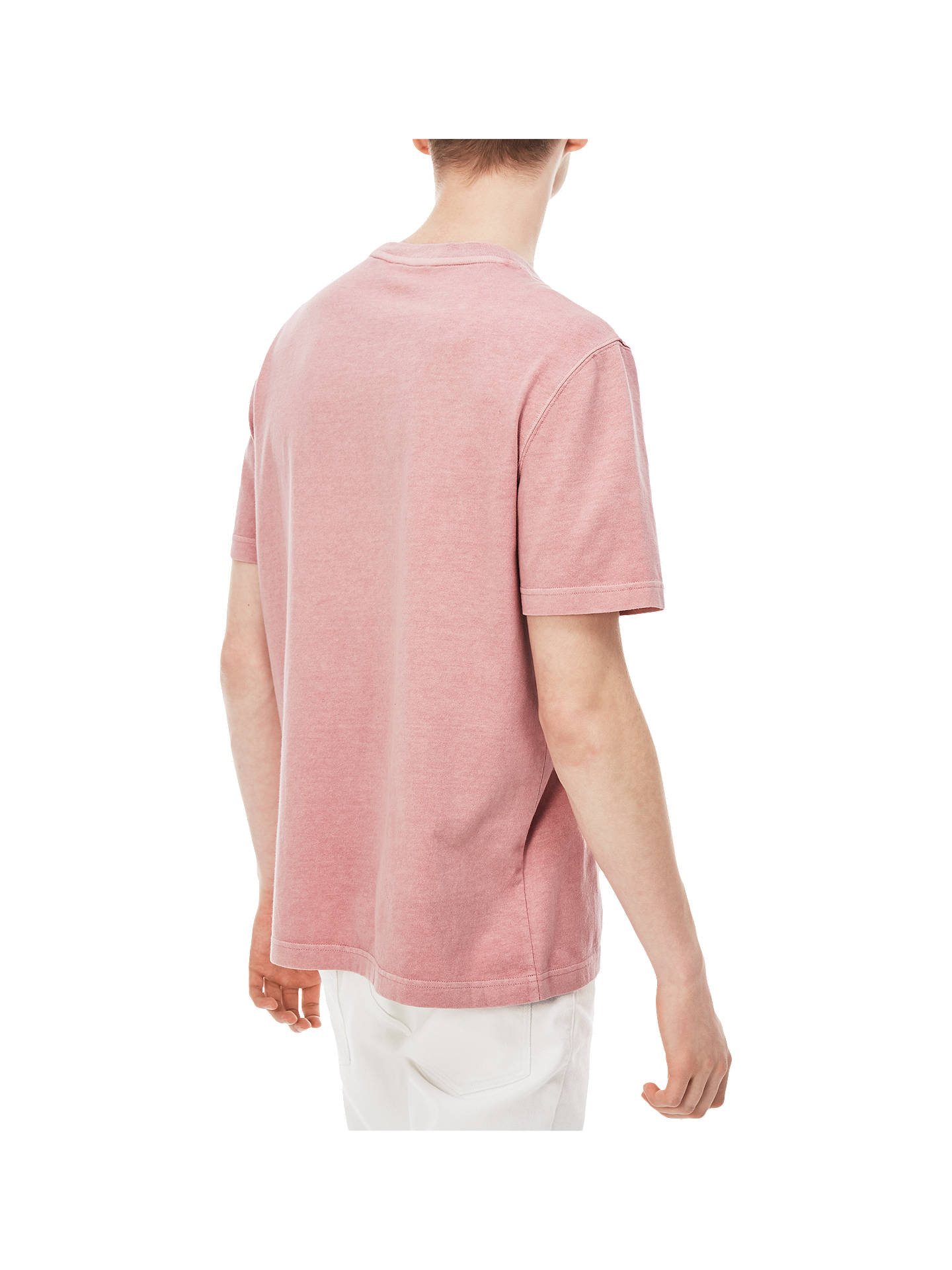BuyLacoste LIVE Small Logo Short Sleeve T-Shirt, Pink, S Online at johnlewis.com