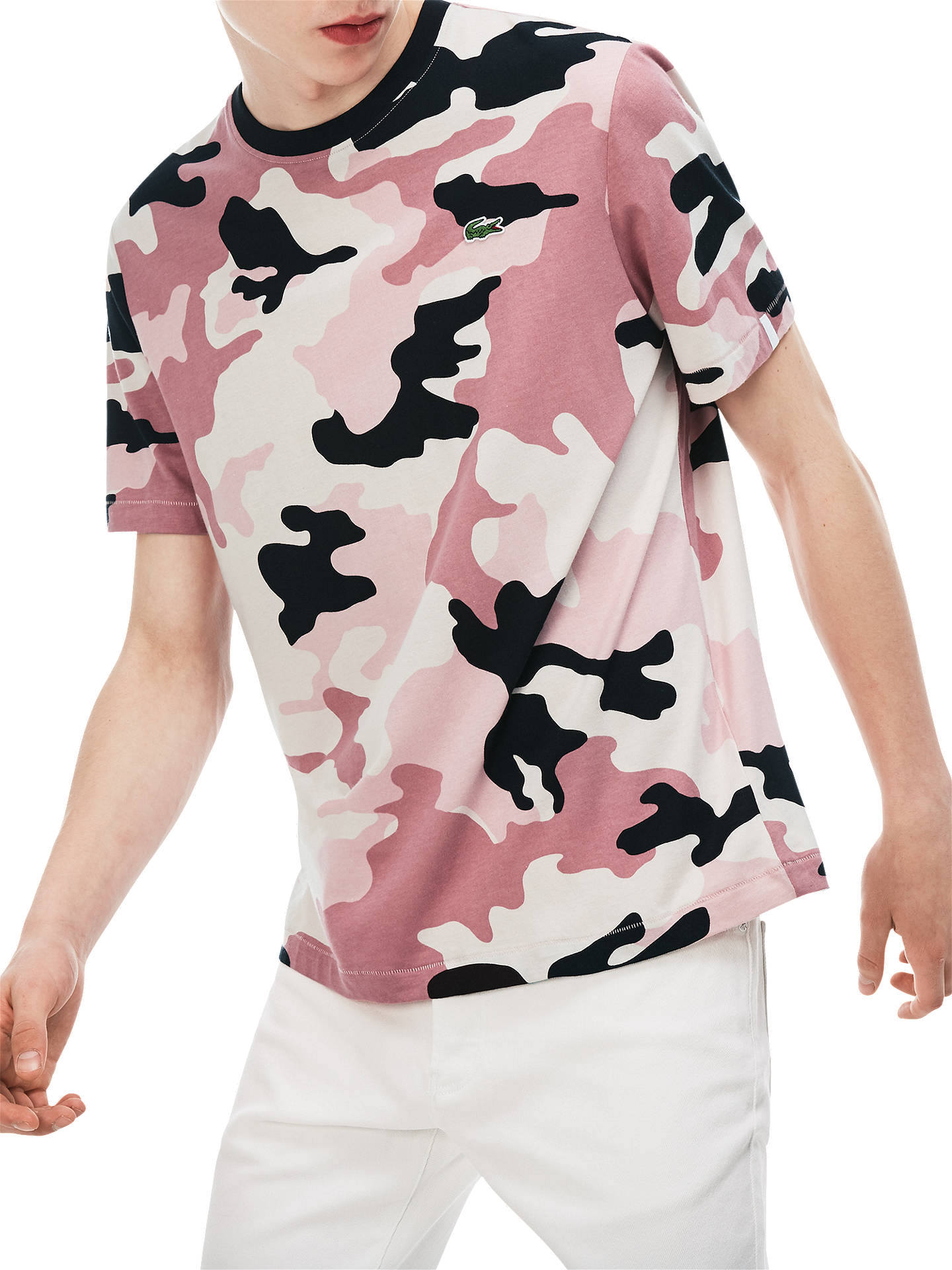 a40ad306470 Buy Lacoste LIVE Camo Short Sleeve T-Shirt